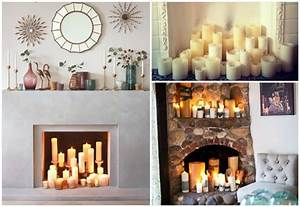 Ideas para decorar chimeneas con encanto