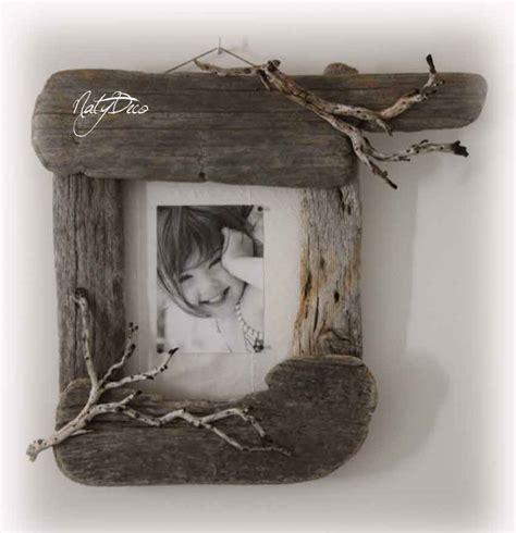 cadre photo en bois flott 233