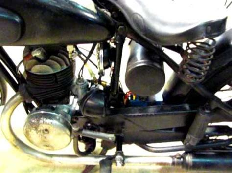 zündapp db 200 zundapp db200 db 200 1950 model vintage motorcycle running antique