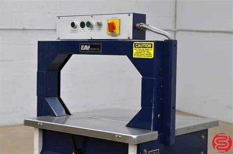 mosca ro  semi automatic strapping machine boggs equipment