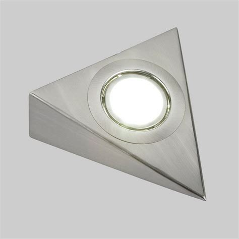 cabinet triangle light