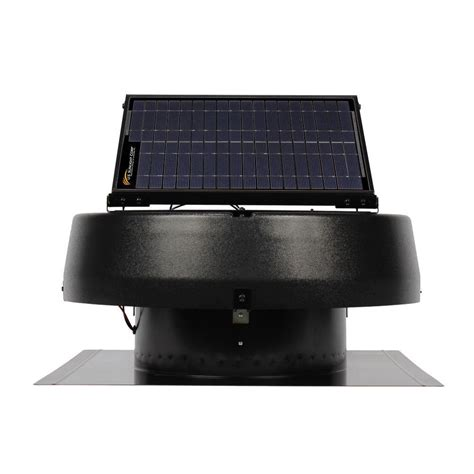 Us Sunlight 20 Watt Solar Powered Roof Attic Fan 1680cfm