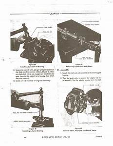 The Seals In Power Steering Of A 4600 Ford Tractor  How Do