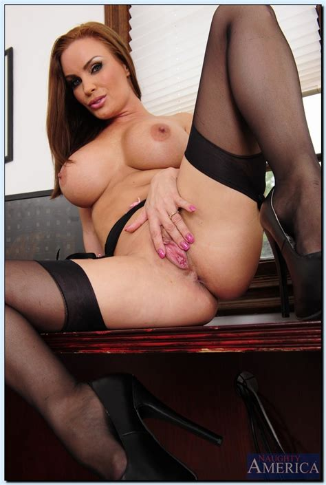 Well Stacked Teacher In Black Lingerie With Quimby
