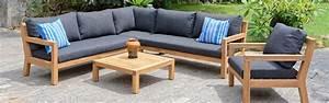 Lounge Gartenmöbel Holz : mykonos holz lounge set holz lounge lounge ~ Indierocktalk.com Haus und Dekorationen