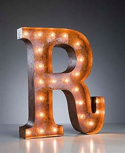 Pinterest discover and save creative ideas for Large vintage marquee letters