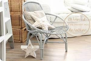 Petit Fauteuil Maison Du Monde : fauteuil rotin maison du monde finest avant aprs mon ~ Premium-room.com Idées de Décoration