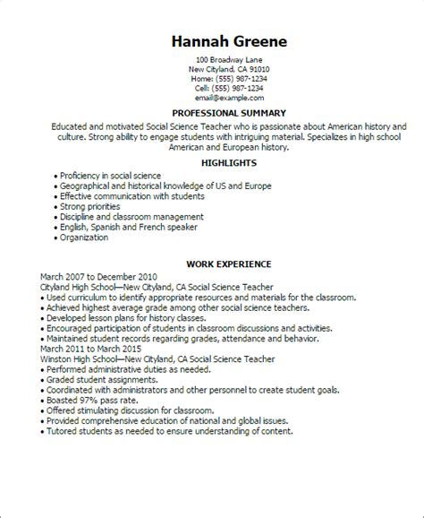 Social Science Research Analyst Resume professional social science templates to showcase