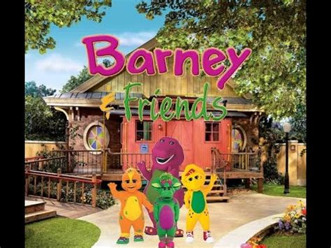 barney dancing  fun stage show youtube