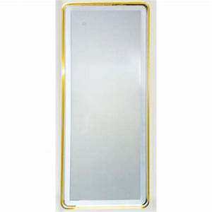 miroir moderne rectangulaire led integre 40 watt With miroir led intégré