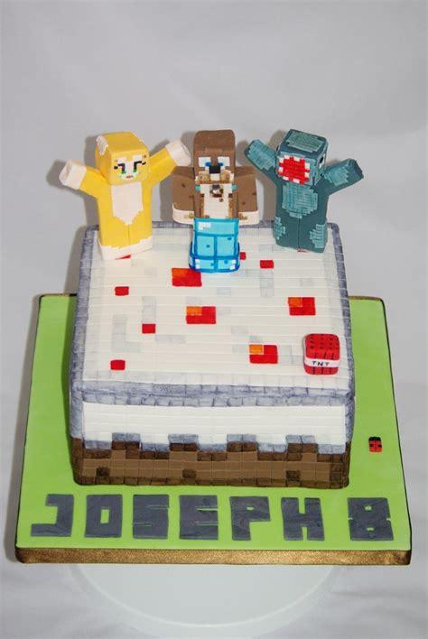 minecraft cake cakes  rachel capstick stampy cat