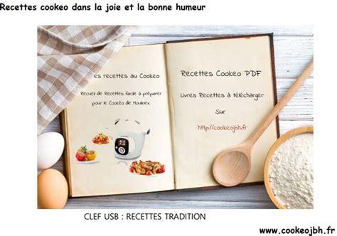 cuisiner avec cookeo livres de recettes cookeo inédits pdf recettes cookeo