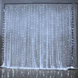 wedding backdrop lights for sale led curtain light 3mx3m 300 led 8 mode blue white for