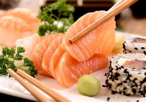 fish cuisine japanese food fish land sticks parsley japanese cuisine fish sushi sticks parsley hd wallpaper