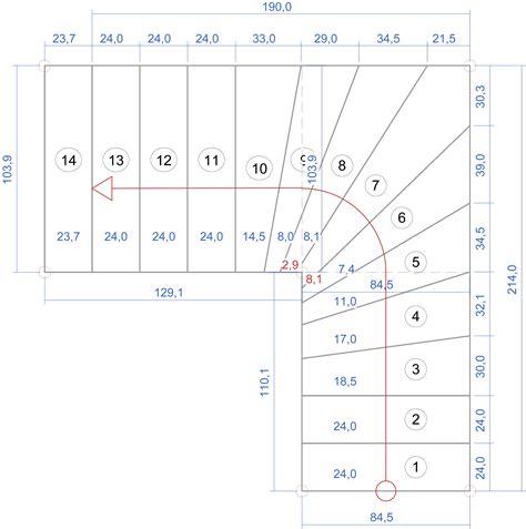 1 4 Gewendelte Treppe Konstruieren by Halbgewendelte Treppe Konstruieren Wohn Design