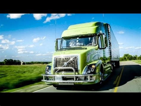 volvo trucks husband wife team turns heads