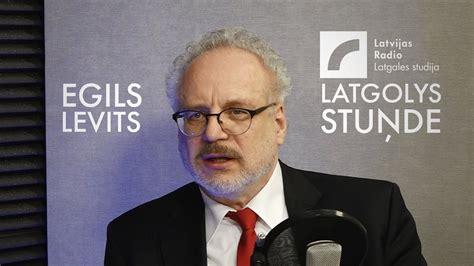 #LatgolysStuņde: jaunievēlētais prezidents E.Levits sola ...