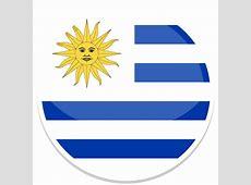 Uruguay Icon Round World Flags Iconset Custom Icon Design