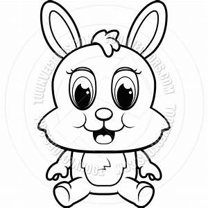 Bunny Clipart Black And White | Clipart Panda - Free ...
