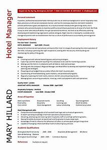 Example Of A Good Resume Format Hotel Manager Resume Sample Hotel Manager Resume If