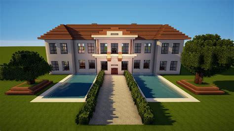Großes Minecraft Herrenhaus  Schloss Bauen Tutorial [haus