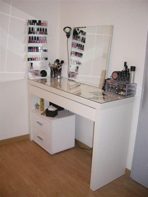 rangement pratique chambre coiffeuse ikea malm rangement pratique room ideas