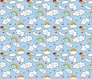 Regenbogen Tapete Kinderzimmer : kawaii herzen regenbogen wolken design von nicoleporter auf dein design auf ~ Sanjose-hotels-ca.com Haus und Dekorationen