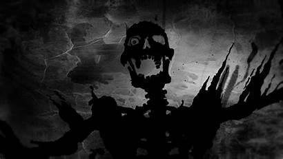 Evil Dark Skull Scream Halloween Skulls Wallpapers