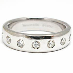 estate tiffany co mens diamond wedding band ring solid With mens tiffany wedding ring