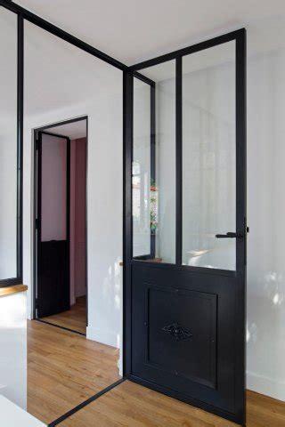 seconde de cuisine porte de style atelier d 39 artiste en acier battante ou à