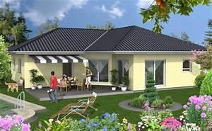 Fertighaus Bungalow 120 Qm : bungalow 120 bungalow fertighaus energiesparhaus von b b haus ~ Markanthonyermac.com Haus und Dekorationen