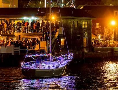 Newport Boat Parade Ri Yacht Club Discover