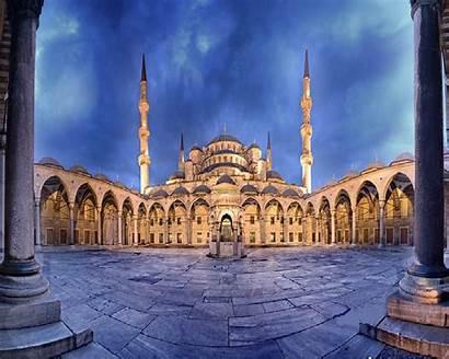 Istanbul Mosque Stamboll Udhetim Ne Blu Turkey