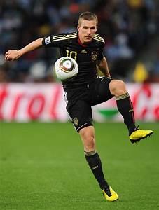 Lukas Podolski Photos Photos - Argentina v Germany: 2010 ...