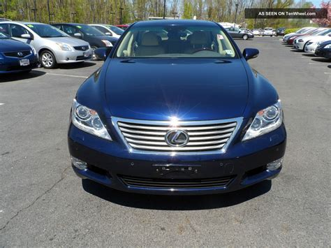 lexus blue 2011 lexus ls460 blue tan loaded serviced 1