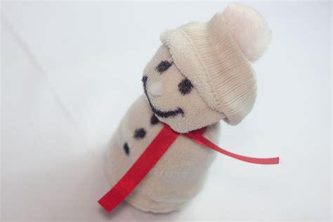 sock snowman kids  steps  pictures