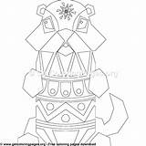 Coloring Pages Gopher Geometrical Getcoloringpages Animal Category sketch template
