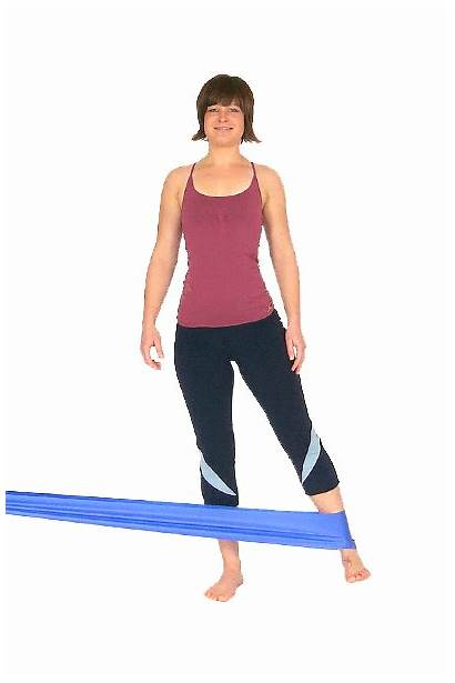 Outer Exercise Thigh Buttocks Gluteal Exercises Band