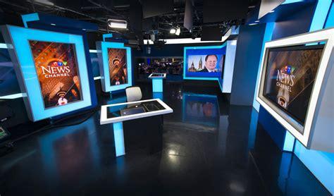 news network ctv news network broadcast set design gallery