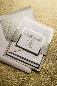 abigail suite styled fancy glitter package glitter With fancy that wedding invitations