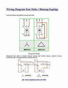 Wiring Diagram Rangkaian Star Delta
