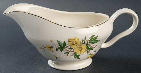 Knowles Gravy Boat by Knowles Edwin Buttercup At Replacements Ltd