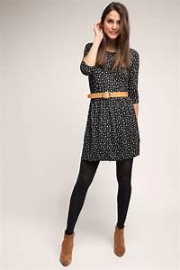Kleid Mit Stiefeletten : esprit jersey kleid mit minimal print im online shop kaufen outfits f rs b ro pinterest ~ Frokenaadalensverden.com Haus und Dekorationen