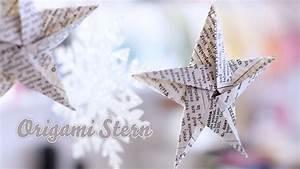 Sterne Aus Papier Falten : origami stern aus papier f r weihnachtsbaum youtube ~ Buech-reservation.com Haus und Dekorationen