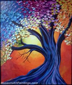Modern Abstract Tree Art Pictures to Pin on Pinterest ...