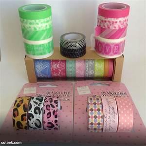 My Washi Tape Collection Cuteek
