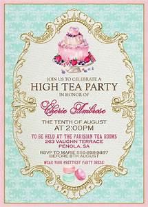 Fantastic Tea Party Invitation Wording Ideas Around Cool ...