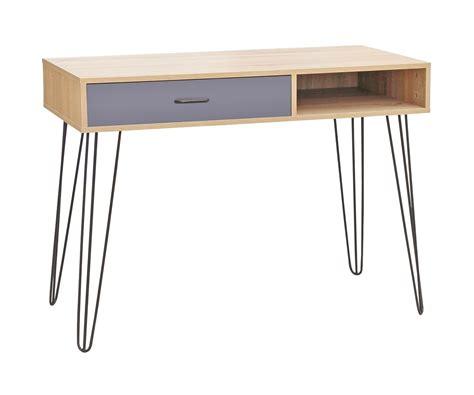 meuble bureau chez but meuble sellette console bureau de rangement avec tiroir et