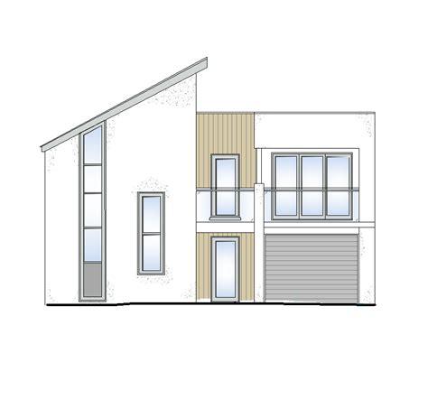 Modernes Haus Zeichnung by Modern House Cad Drawings Cadblocksfree Cad Blocks Free