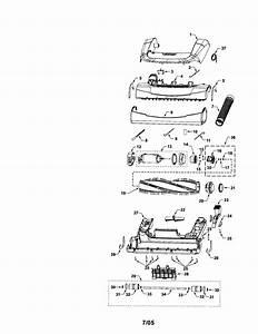 Kenmore 11635922500 Upright Vacuum Parts
